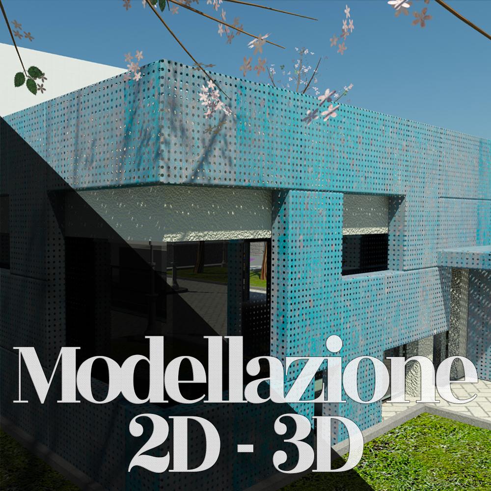 modellazione 2d 3d